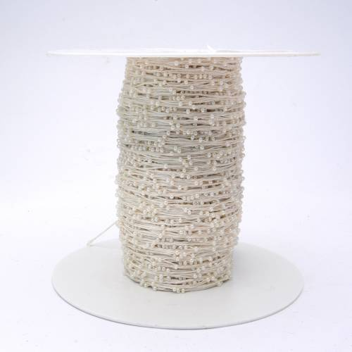 Cotton 50% Merino 50% Beads (30,5€/100g)